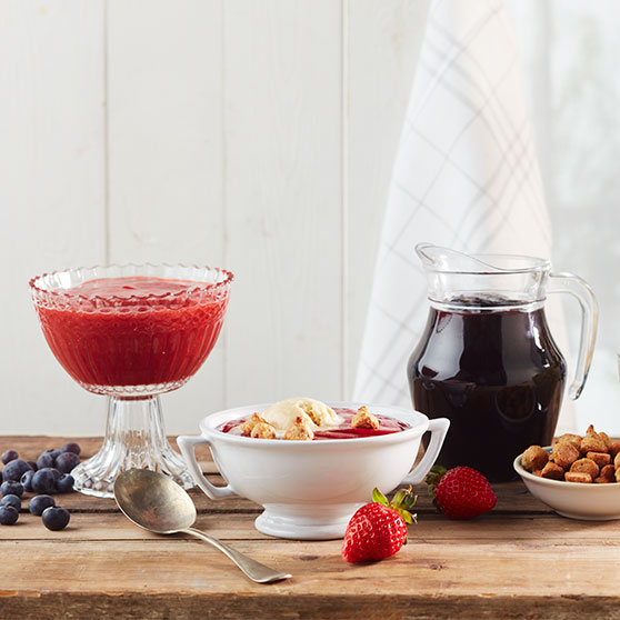 Basic recipe for summer compote